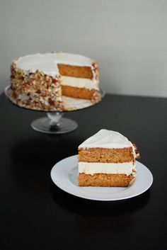 Carrot Cake and Cheesecake Cake | Beantown Baker ... adventures in a Boston kitchen Carrot Cake Cheesecake, Cheesecake Cupcakes, Cheesecake Recipes, Liquor Cake, Rich Cake, My Birthday Cake, Sugar Cake, Cake Creations, Fancy Cakes