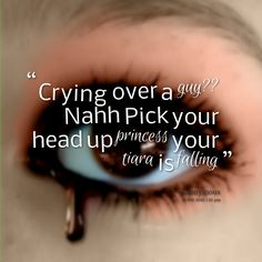 Crying Over A Guy