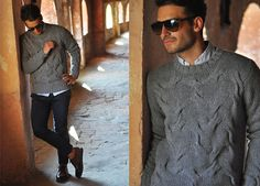 Persol Sunglasses, Kangra Cashmere Sweater, Massimo Rebecchi Pants