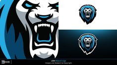 Pre-Made eSports Logos & Mascot Designs Mascot Design, Badge Design, Icon Design, Best Logo Design, Branding Design, Sports Decals, Sports Team Logos, Esports Logo, Lion Logo