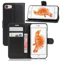 For IPhone 7 6S Plus Wallet Lichee Leather Cases Flip Stand Case Cover Card Money Slots Holder for Samsung Galaxy Note 7 S7 S6 Edge Plus IPhone 7 Case Galaxy Note 7 Case Leather Wallet Online with $2.74/Piece on Viparts's Store   DHgate.com