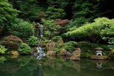 Japanese Garden - Portland, Oregon
