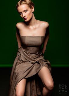 Платье - шерсть с шелком / dress - wool with silk