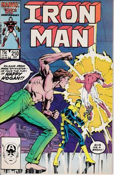 Iron Man 210 September 1986 Issue Marvel Comics by ViewObscura