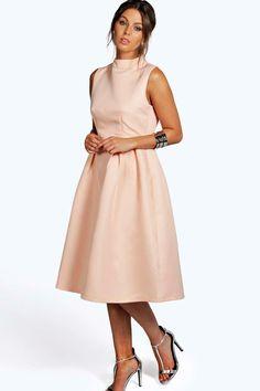 Sana Boutique High Neck Prom Dress