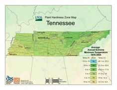 USDA Unveils New Plant Hardiness Zone Map - Tennessee Home and Farm
