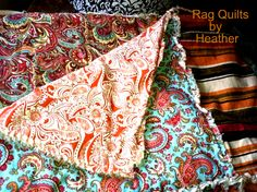 King Size Bohemian by Rag Quilts by Heather
