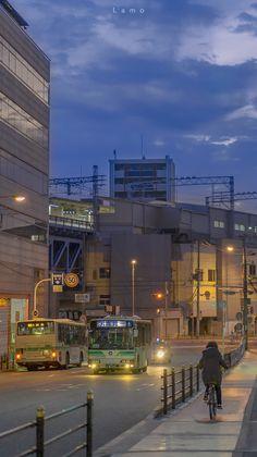 Anime Scenery Wallpaper, Aesthetic Pastel Wallpaper, Aesthetic Backgrounds, Aesthetic Wallpapers, Aesthetic Japan, City Aesthetic, Aesthetic Anime, City Art, Aesthetic Pictures