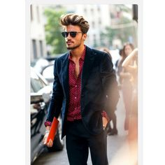 Mariano Di Vaio  Dressed down but such an effortlessly cool look. www.memysuitandtie.com