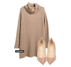 """Untitled #1208"" by elinaxblack ❤ liked on Polyvore featuring Violeta by Mango and Christian Louboutin"