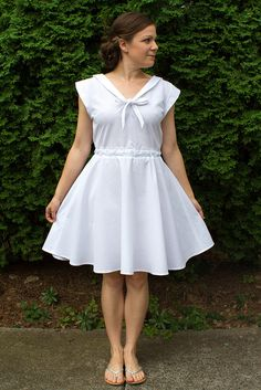 Indie Pattern Company: Deer and Doe / Style: Réglisse dress / Maker: Kristin, skirtastop.com