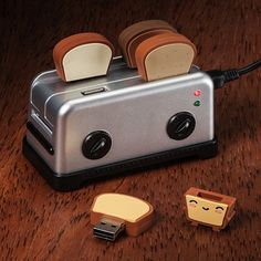 USB Toaster HUb with Toast Thumbdrives ($25/now).