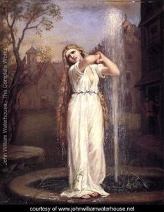 Undine  1872 - John William Waterhouse - www.johnwilliamwaterhouse.net