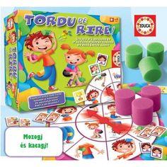 Mozogj és kacagj!, Tordu de Rire! mozgásfejlesztő partyjáték 4 éves kortól - EDUCA