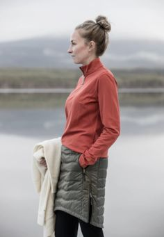 Forget snow pants, this toasty skirt using ethical down gives you an excuse to wear yoga pants to work and makes outdoor activities fashionably more fun. This is a MUST HAVE for winter and the perfect way to dress up your cold weather wardrobe.