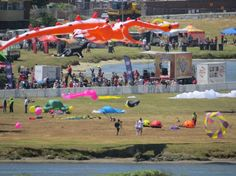 Kite Festival, Muizenberg - Cape Town. #Muizenberg #kites Nordic Walking, Kites, School Fun, Cape Town, South Africa, Dolores Park, Surfing, Southern, Ocean