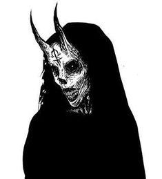 Demon by Ωmega Black (@ omega_black_art) Demon Drawings, Dark Art Drawings, Satan Drawing, Ange Demon, Demon Art, Arte Horror, Horror Art, Horror Drawing, Dibujos Dark
