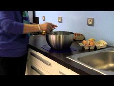 Use a Dycem non-slip mat to keep items stable in the kitchen.