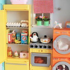 dollhouse kitchen re-ment
