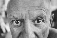 Pablo Picasso. David Douglas Duncan:   http://static.guim.co.uk/sys-images/Guardian/Pix/pictures/2012/3/20/1332259700171/The-eyes-of-Picasso-009.jpg