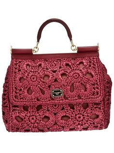 Dolce and Gabbana #Crochet Purse via Beso #aff