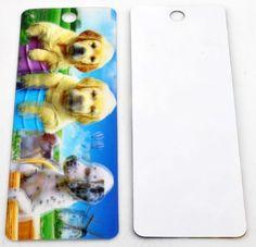 Boekenlegger / Bookmark Dogs 3D for sale at Trendy Goodies. http://www.trendygoodies.nl/Boekenlegger-Honden-3D