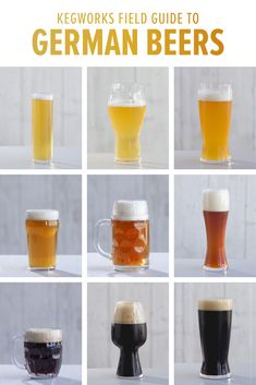 The KegWorks Field Guide to German Beer Styles Brewing Recipes, Beer Recipes, Homebrew Recipes, Coffee Recipes, Ale Recipe, Beer Types, Beer Week, Ale Beer, Alcohol