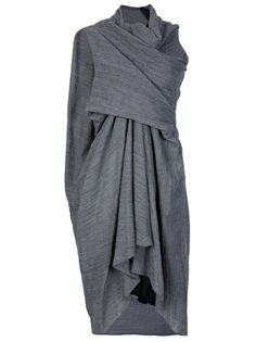 Rick Owens - Draped dress