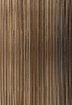 Wallcovering / Wallpaper | Rimini Rib in Burnished Bronze | Schumacher