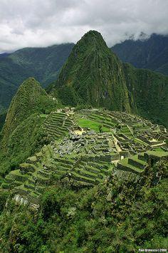 Machu Picchu. Will definitely go back again.