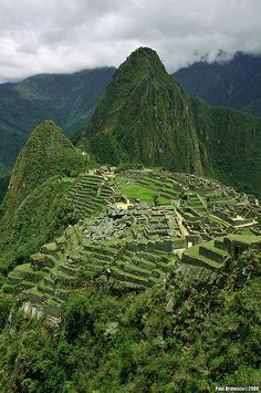Machu Picchu. Will definitely go back again.
