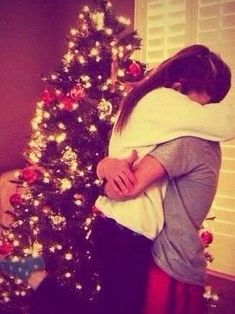 Give her the best Christmas ever with a real tree snuggling by the fire watching Christmas movies and being inlove I can't wait for this Emily
