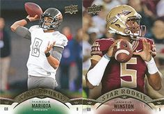 2015 Upper Deck NFL Football Series Complete Mint 145 Card Hand Collated Set with Rookies Including Marcus Mariota Jameis Winston and…