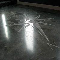 Decorative Concrete Floor — Cariboo Helicopters http://www.sunwisesystems.com/Decorative_Concrete_Floors.html