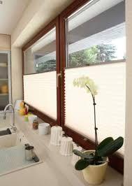 Znalezione obrazy dla zapytania jak zasłonić okno w kuchni zlew