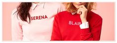 Totally in ♥️ with these @gossipgxoxo #sweaters by @rad #totallyawesome ! #gossipgirl #serenavanderwoodsen #blairwaldorf #red #pink #cool #sweats #cute #girlsworld #uppereastside #wannabe #fashionista #fashion #clotheshorse #rad #fblogger #styleblogger #stylist #pearlsandvagabonds