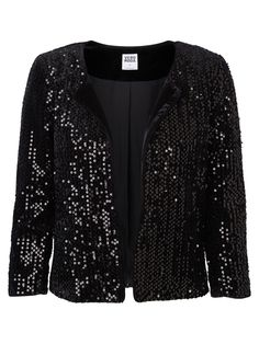 Sequined blazer from VERO MODA. Sparkle at your next party. #veromoda #party #sequins #fashion