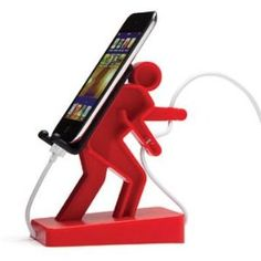 NEW Boris Cell Mate Holder for Mobile Phone Music Player (Red) #home decor #home #decor