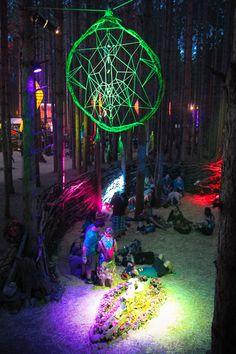The Birds Nest . Dream Catcher .  Electric Forest 2013 . Music Festival