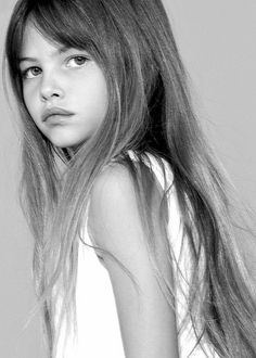 Thylane Blondeau- of course she's French!