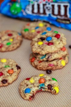 Nailed it!!! One of the best cookies I've made...great for baking with little kids. oatmeal m cookies