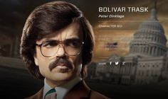 Peter Dinklage as 'Bolivar Trask' in 'Xmen: Days of Future Past'