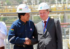 #Evo inaugura Incahuasi, renta petrolera será de $us 5.558 MM - #Bolivia…