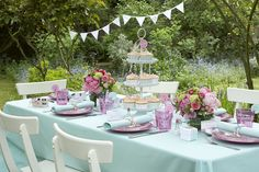 have a garden party....maybe i should get the garden first....
