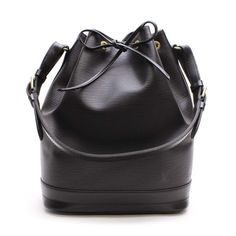Louis Vuitton Noe  Epi Shoulder bags Black Leather M59002