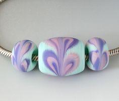 Outwest Art Glass Beads Lampwork Beads, Glass Art, Glass Beads, Big