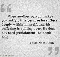 When another person makes you suffer... #quotes