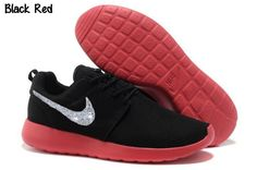 big sale 7a586 2587a Buy New Arrival Nike Roshe Run Mesh Womens Black Red Shoes from Reliable New  Arrival Nike Roshe Run Mesh Womens Black Red Shoes suppliers.