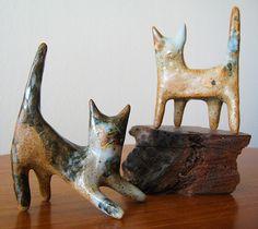 Clay Kitties by Penguin & Fish, via Flickr