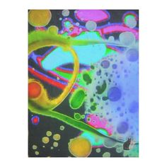 """Fluid Repose Fleece Blanket. Wrap yourself in this exotic fleece and be transported to a psychedelic dreamland. The image is from my Kinetic Collage """"Sweet Dreams"""" series of psychedelic light show photos. I """"freeze"""" the video projection frame to capture the still image. Over 3000 products at my Zazzle online store. Open 24/7 World wide! http://www.zazzle.com/greg_lloyd_arts*?rf=238198296477835081 + See KC @  http://www.youtube.com/user/kineticcollage"""